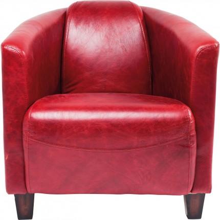 Armchair Cigar Lounge Red Kare Design