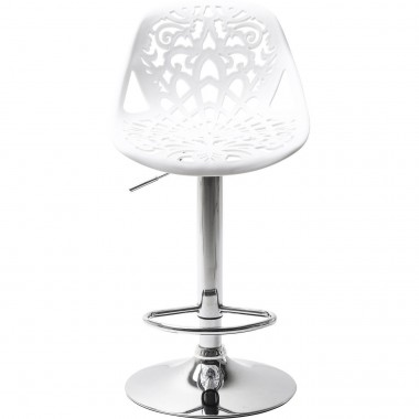 Bar Stool Ornament White Kare Design