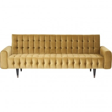 Sofa Milchbar Velvet Honey 3-Seater Kare Design