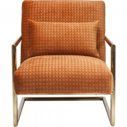 Armchair Living Vegas Orange Kare Design