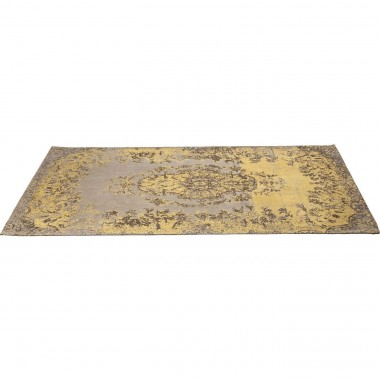 Carpet Kelim Pop Yellow 240x170cm Kare Design