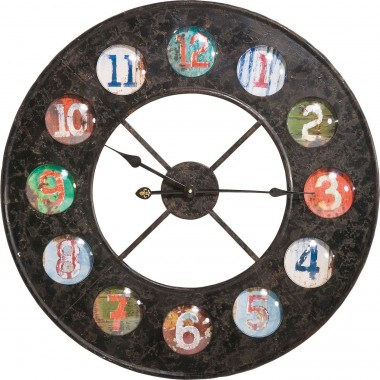 Wall Clock Vintage Colore Ø70cm Kare Design