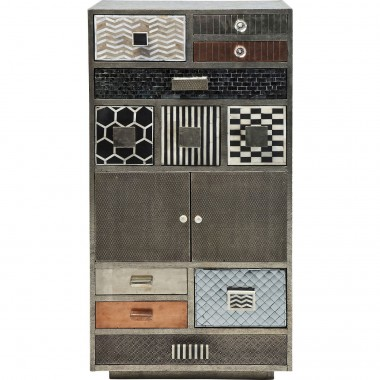 Cabinet Chalet 11 Drawers, 2 Doors Kare Design