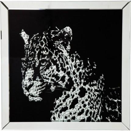 Picture Frame Mirror Leopard Kare Design