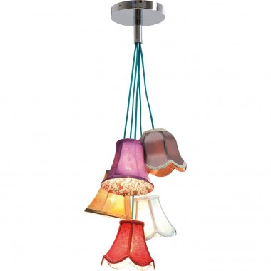 Pendant Lamp Saloon Flowers 5 Kare Design