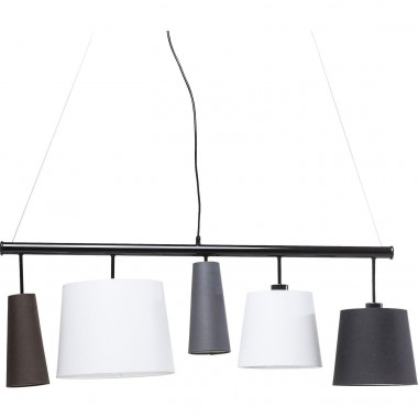 Pendant Lamp Parecchi Black 100 Kare Design