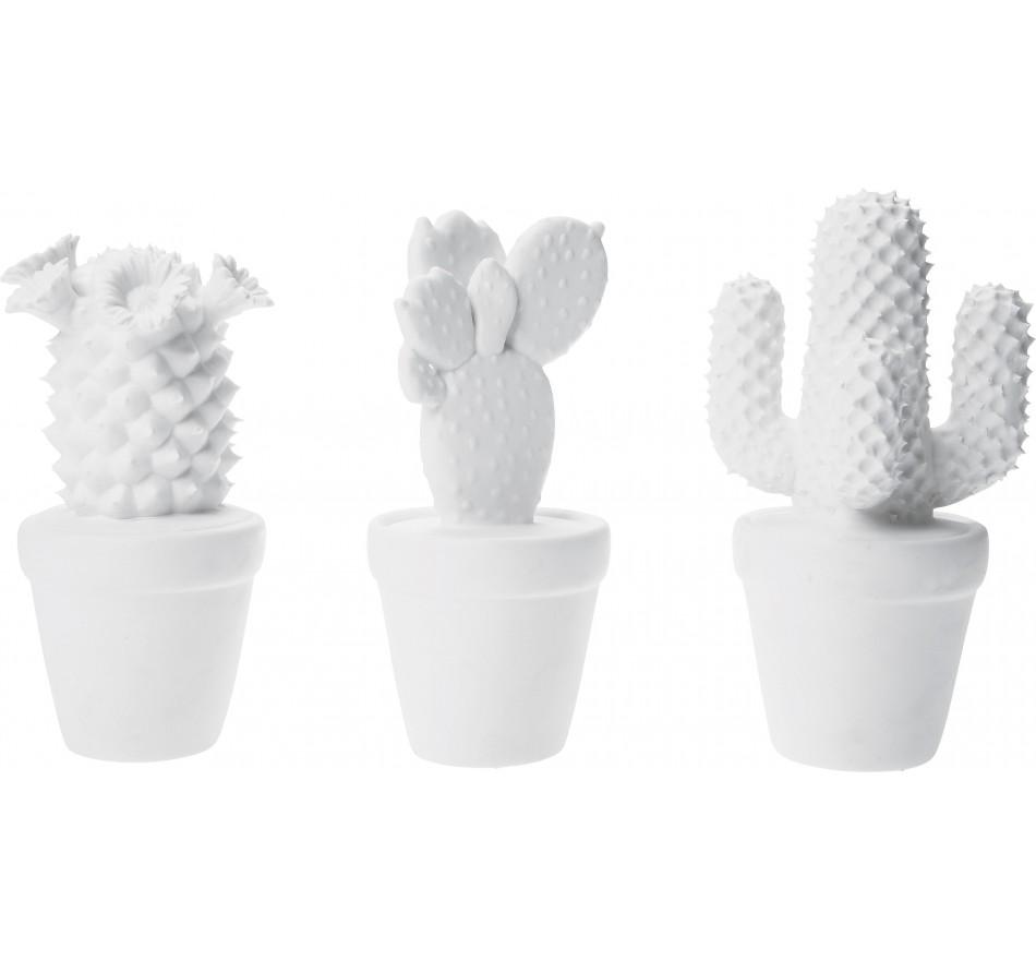 Deco Cactus Blanc 3/set Kare Design