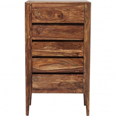 Brooklyn Nature Height Dresser 5 Drawers Kare Design