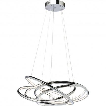 Suspension Saturn LED chromé GM Kare Design