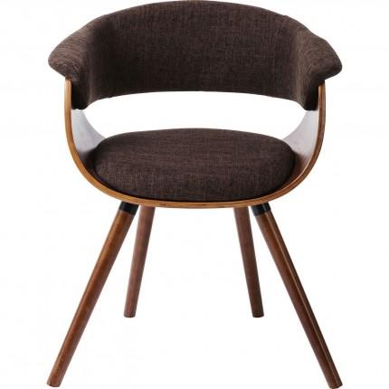 Chair with Armrest Monaco Schoko Kare Design