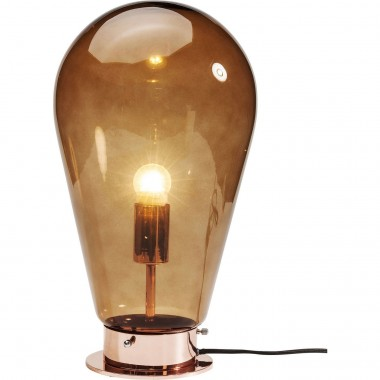 Table Lamp Bulb Copper Kare Design