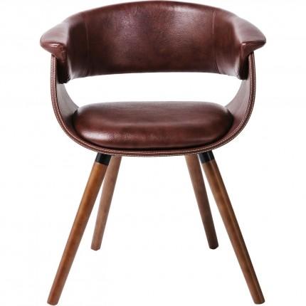 Chair with Armrest Nougat Kare Design