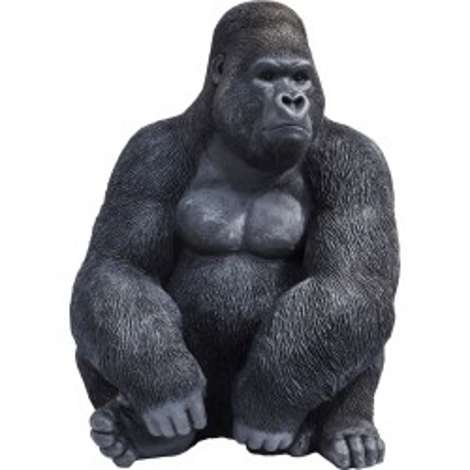 Deco Object Monkey Gorilla Side XL Black Kare Design