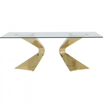 Table Gloria Gold 200x100cm Kare Design