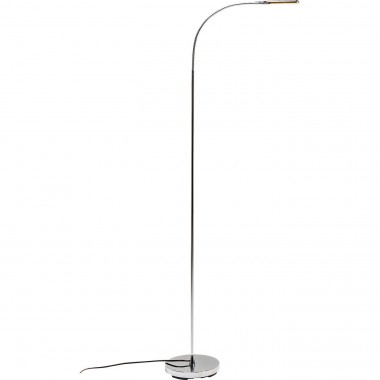 Floor Lamp Literature Chrome LED Kare Design