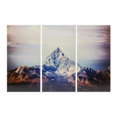 Picture Glass Triptychon Himalaya 160x240cm (3/) Kare Design
