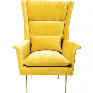 Armchair Vegas Forever Yellow Kare Design