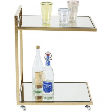 Tray Table Classy Gold Kare Design