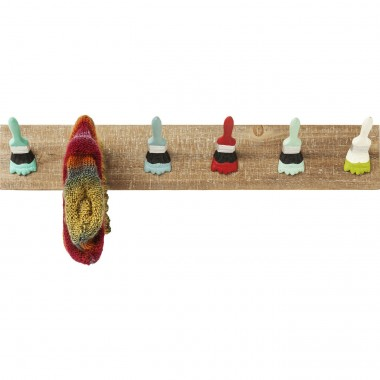 Coat Rack Paintbrush Party Kare Design