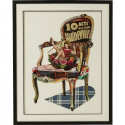 Picture Frame Art Chair Pin Up 90x72cm Kare Design