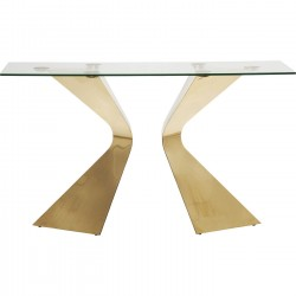 Console Table Gloria Gold Kare Design