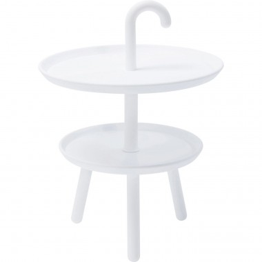 Side Table Jacky White Ø42cm Kare Design