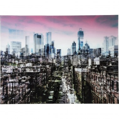 Picture Glass NY Skyline 120x160cm Kare Design