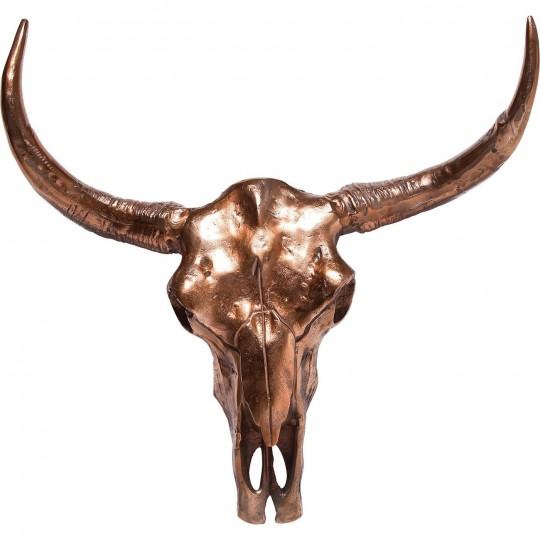 Deco Antler Skull Copper Big Kare Design