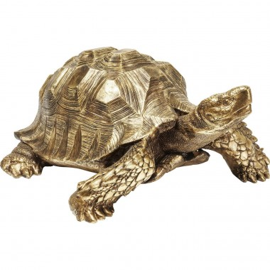 Deco Figurine Turtle Gold Big Kare Design