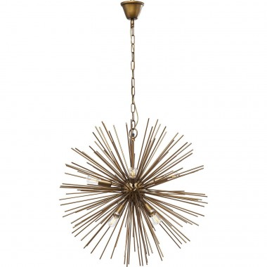 Pendant Lamp Beam Brass Ø72cm Kare Design