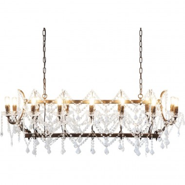Pendant Lamp Chateau Crystal Rusty Kare Design