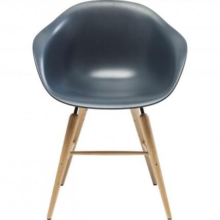 Chaise avec accoudoirs Forum Object gris Kare Design