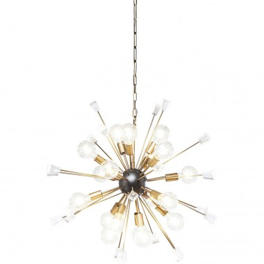 Suspension Crystal Bomb laiton 93cm Kare Design