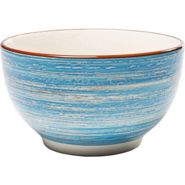 Cereal Bowl Swirl Blue Ø14cm Kare Design