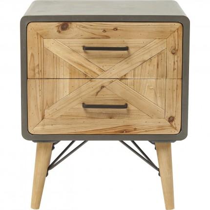 Chevet X Factory 2 tiroirs Kare Design