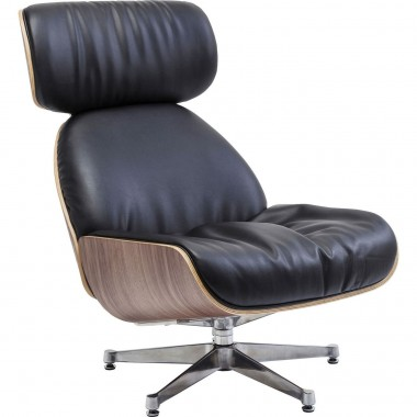 Swivel Chair Ponte Black Kare Design