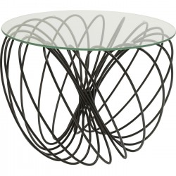 Table d'appoint Wire Ball 60cm Kare Design