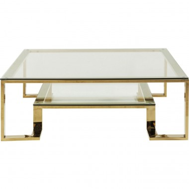 Coffee Table Gold Rush 120x120cm Kare Design