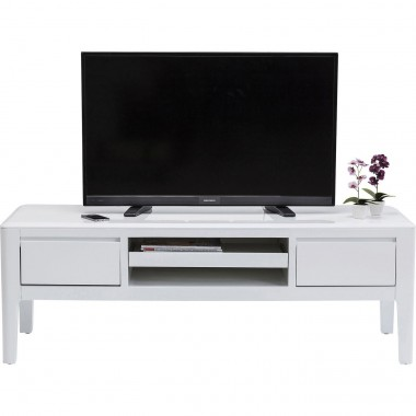 TV Board Brooklyn white Kare Design