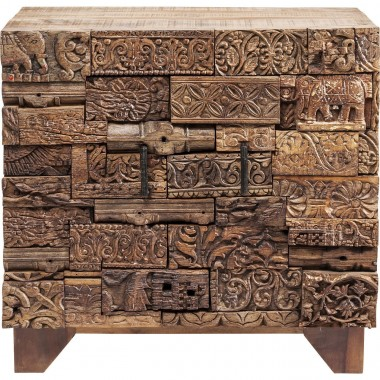 Dresser Shanti Surprise Puzzle Nature 2 Doors Kare Design