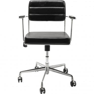 Office Chair Dottore Black Kare Design
