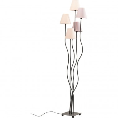 Floor Lamp Flexible Berry Cinque Kare Design