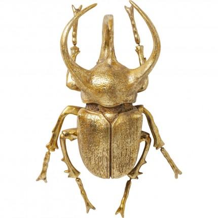 Wall Decoration Atlas Beetle Gold Kare Design