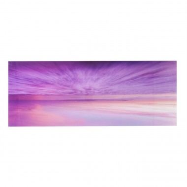 Tableau en verre Horizon Sunset 70x180cm Kare Design
