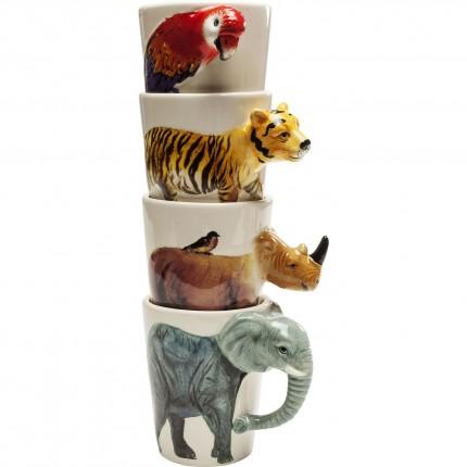 Mug Wild Life Body Assorted Kare Design