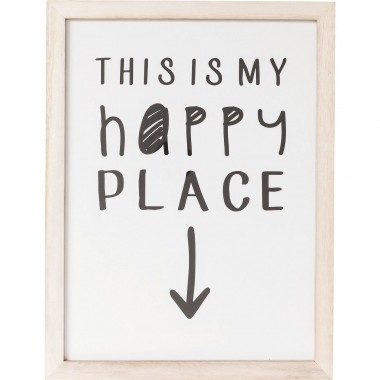Picture Frame My Happy Place 50x38cm Kare Design
