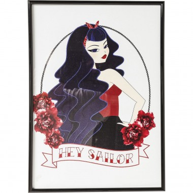 Picture Frame Hey Sailor 41x29cm Kare Design