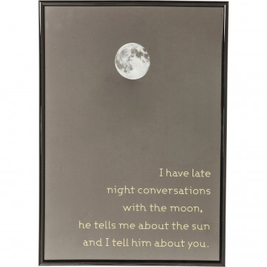 Picture Frame Moon 41x29cm Kare Design