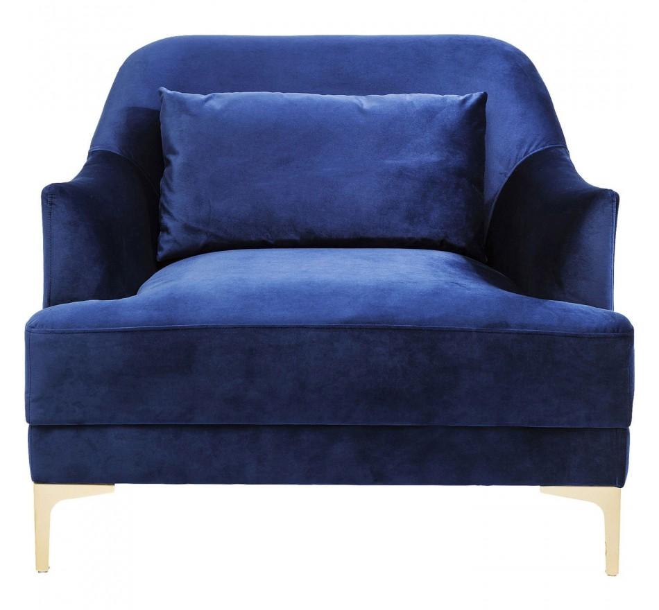 Armchair Proud Blue Kare Design