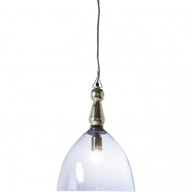 Hanging Lamp Dusty Bell Blue 48cm Kare Design